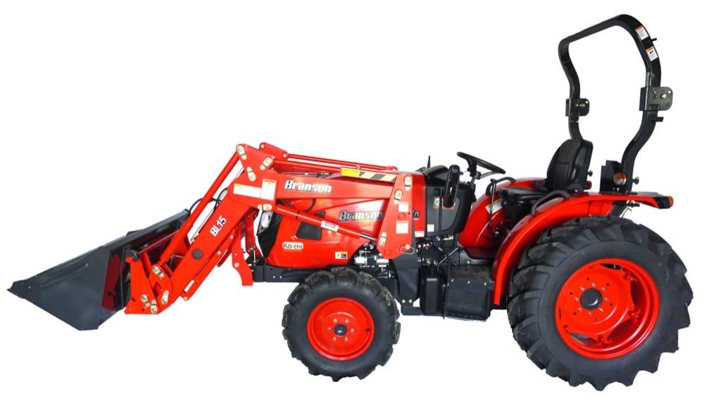 Hľadáte malý traktor? Skúste TOP ponuku traktorov Branson